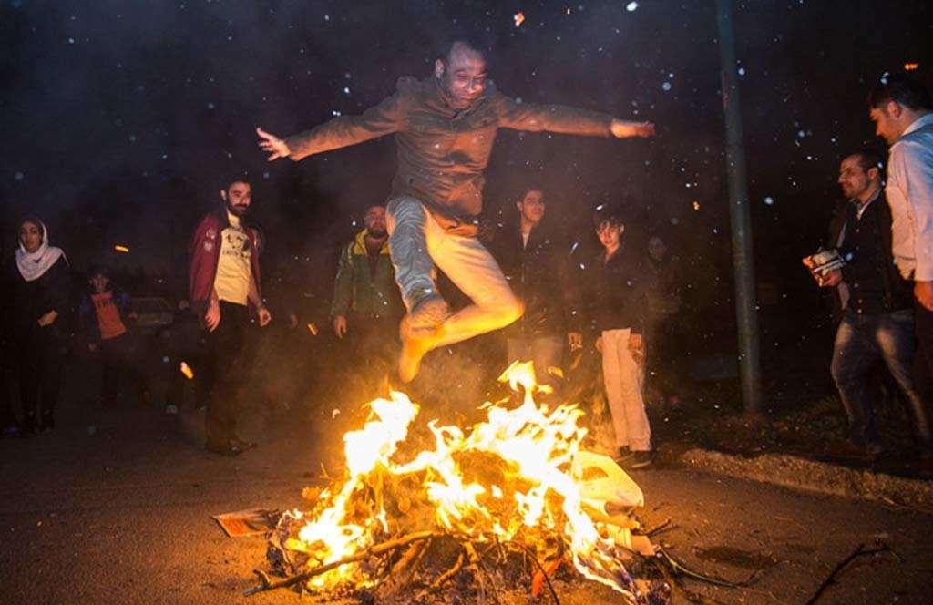 Chahar shanbe soori festival